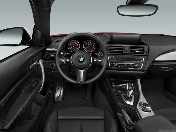 BMW 2 Series Coupe Grey Interior Front
