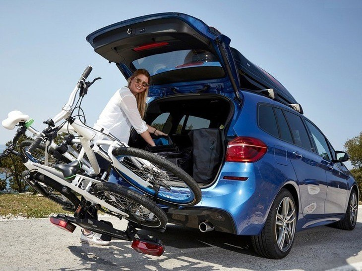 BMW 2 Series Gran Tourer Blue Exterior Back 2