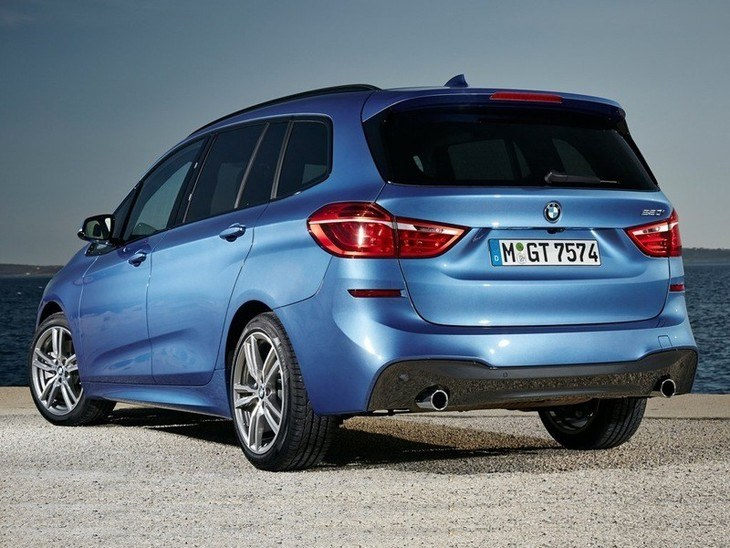 BMW 2 Series Gran Tourer Blue Exterior Back