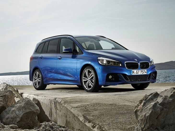 BMW 2 Series Gran Tourer Blue Exterior Front