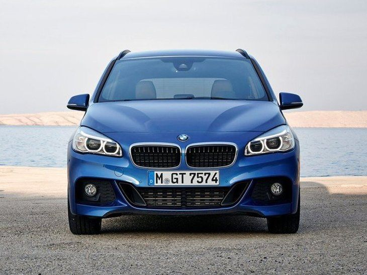 BMW 2 Series Gran Tourer Blue Exterior Front 2