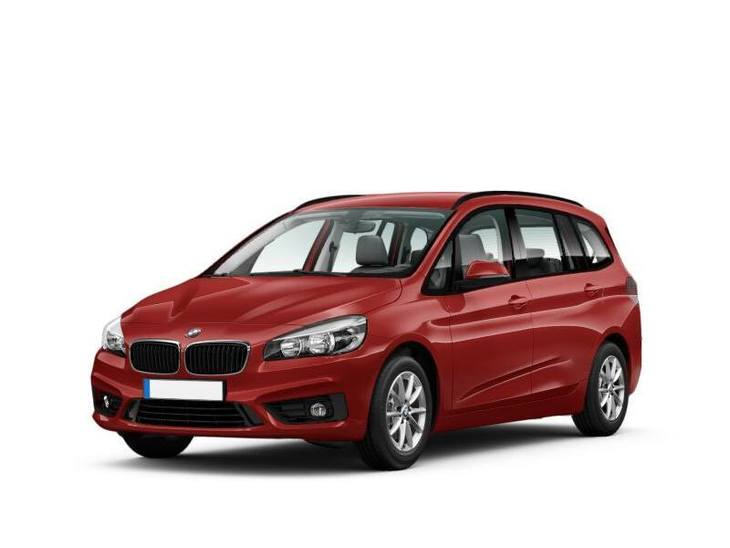 bmw 2 series gran tourer red front