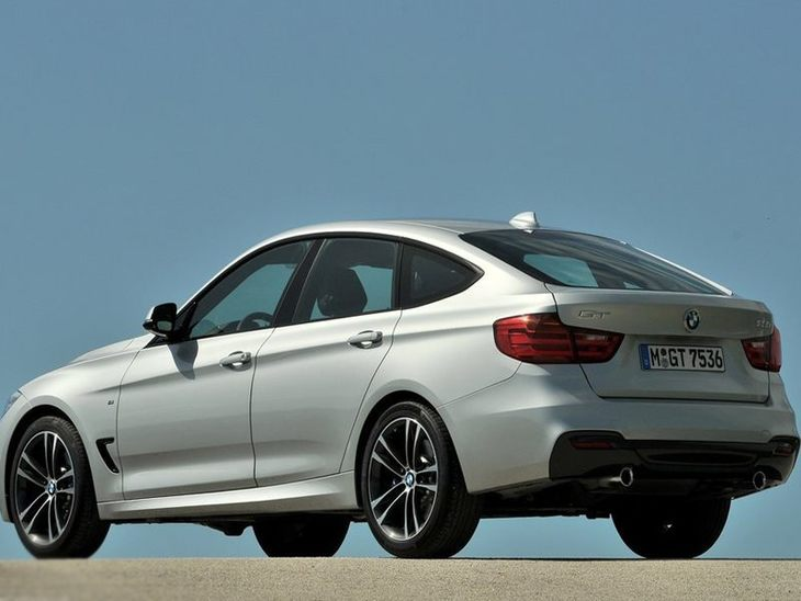 BMW 3 Series Gran Turismo Silver Exterior Back