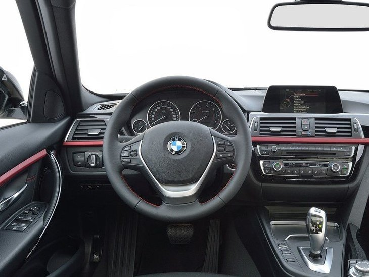 BMW 3 Series Touring Interior Front