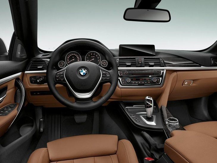 BMW 4 Series Convertible Interior Front