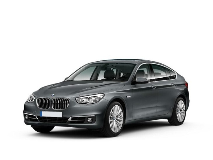 bmw 5 series gran turismo grey front