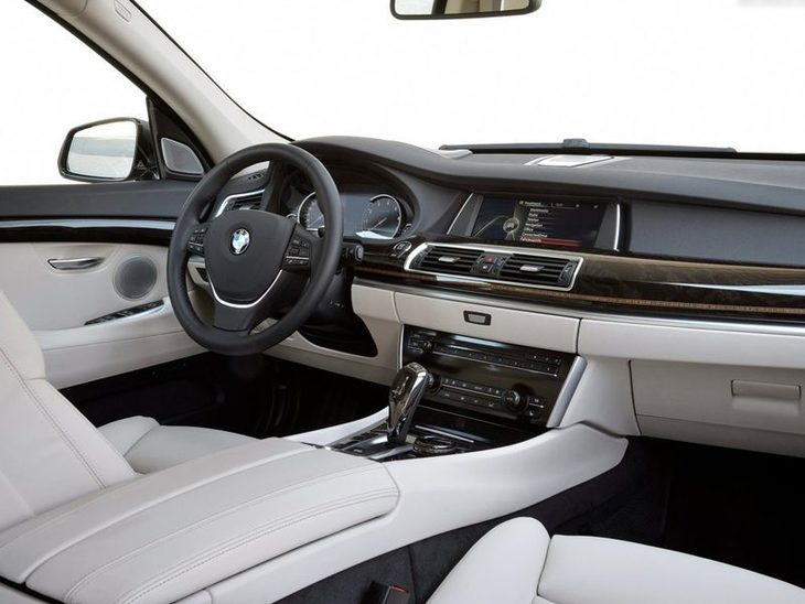 BMW 5 Series Gran Turismo Interior