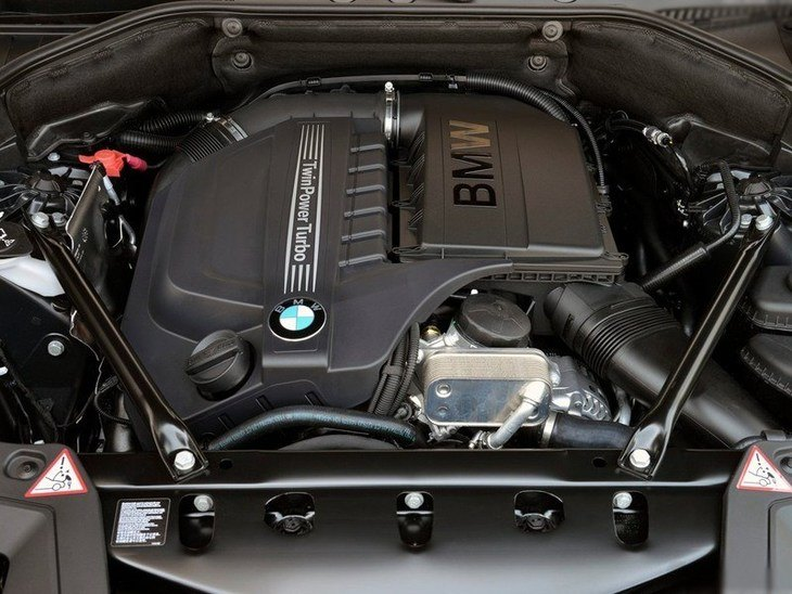 BMW 5 Series Gran Turismo Engine