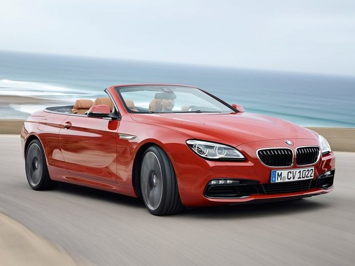 BMW 6 Series Convertible Red Exterior Front