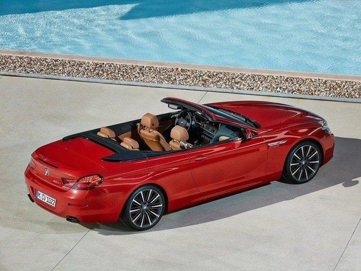 BMW 6 Series Convertible Red Exterior