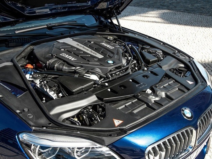 BMW 6 Series Coupe Engine