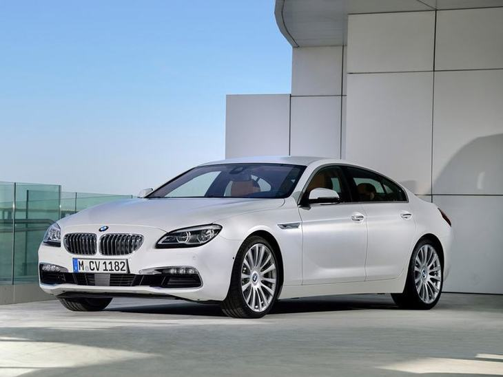 BMW 6 Series Gran Coupe White Exterior Front