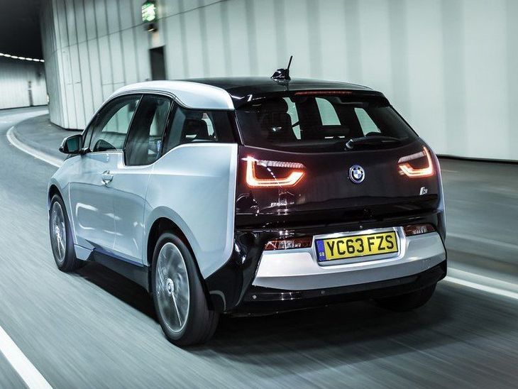 BMW I3 Grey Exterior Back