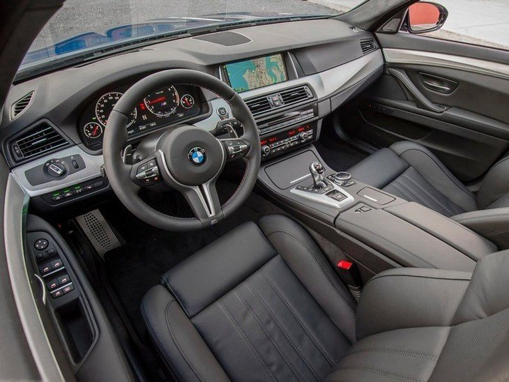 BMW M5 Saloon Interior Side