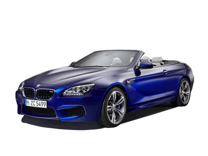 BMW M6 Convertible Blue Exterior Front