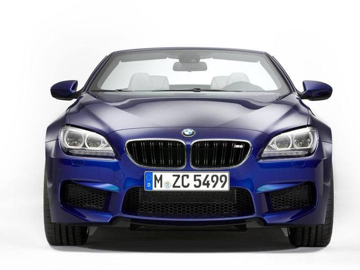 BMW M6 Convertible Blue Exterior Front1