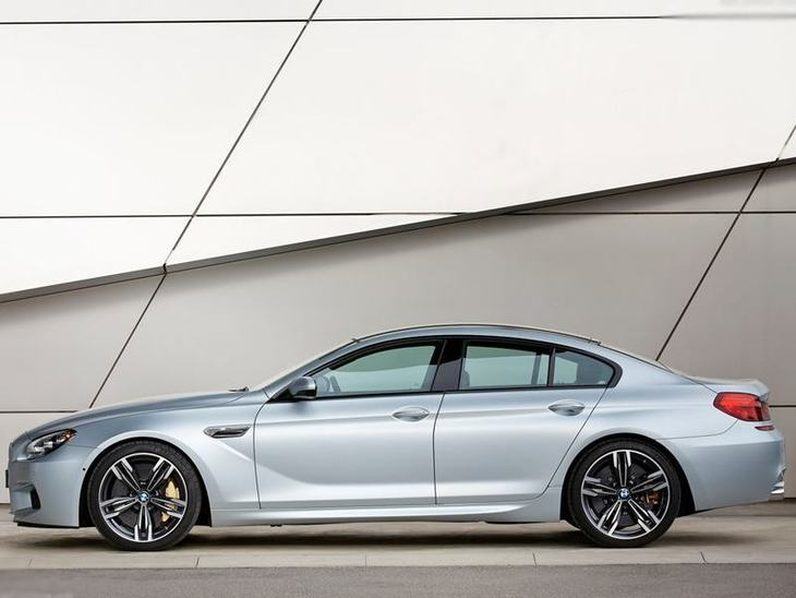 BMW M6 Gran Coupe Silver Exterior Side