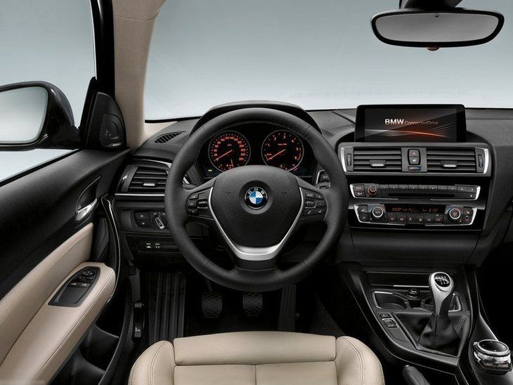 BMW Series 1 3 Door Interior