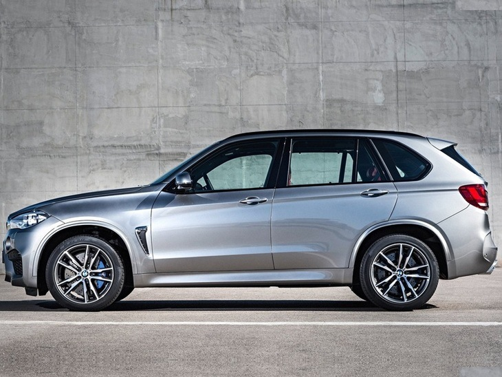 BMW X5 Exterior Side Silver