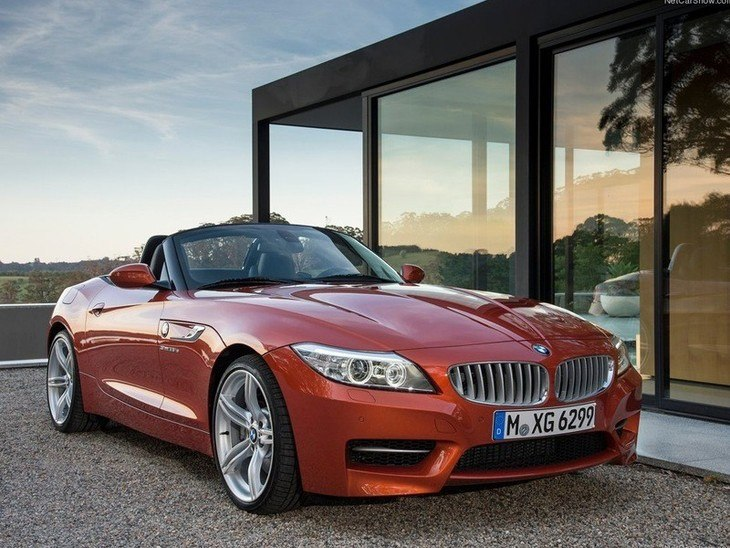 BMW Z4 Roadster Red Exterior Front