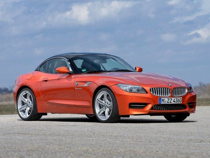 BMW Z4 Roadster Red Exterior Front 2