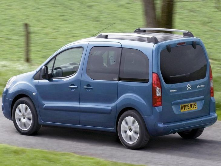 Citroen Berlingo Multispace Blue Exterior Back