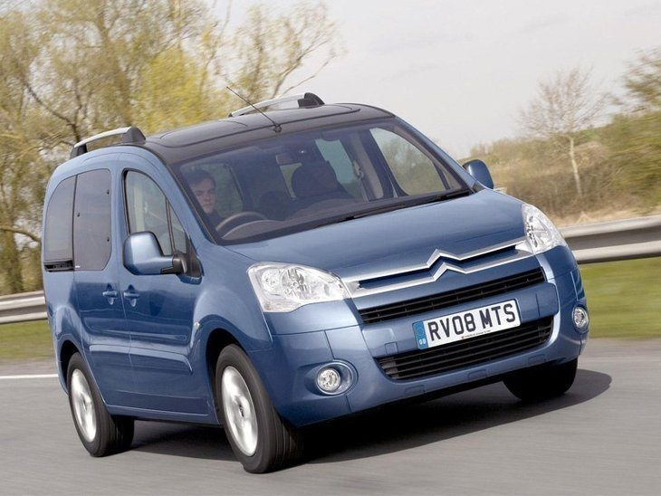 Citroen Berlingo Multispace Blue Exterior Front