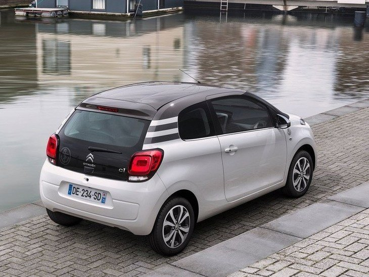 Citroen C1 White Exterior Back