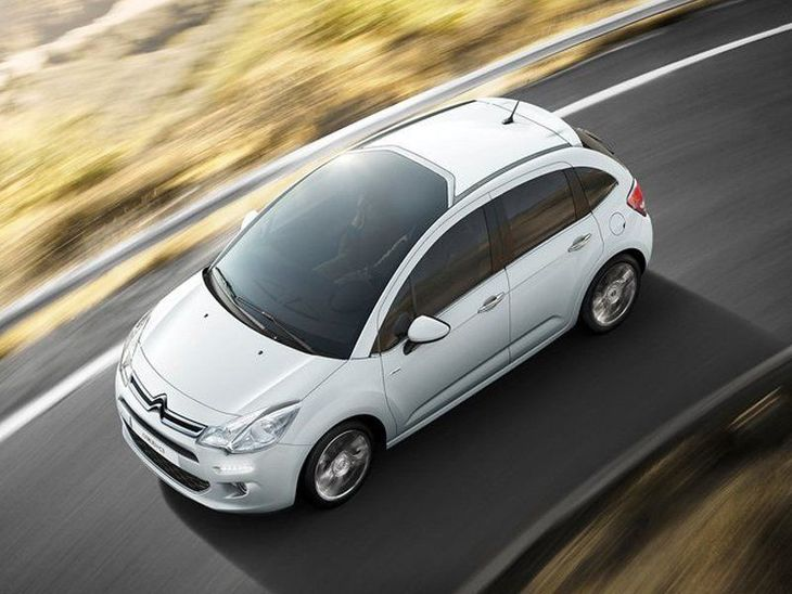 Citroen C3 White Exterior Top