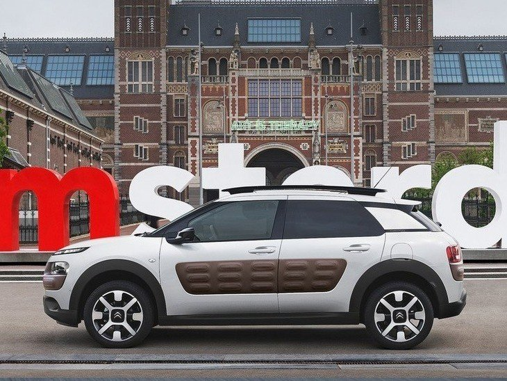 Citroen C4 Cactus White Exterior Side