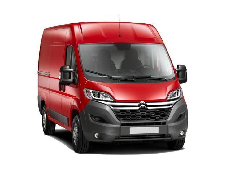 Citroen Relay Red Front