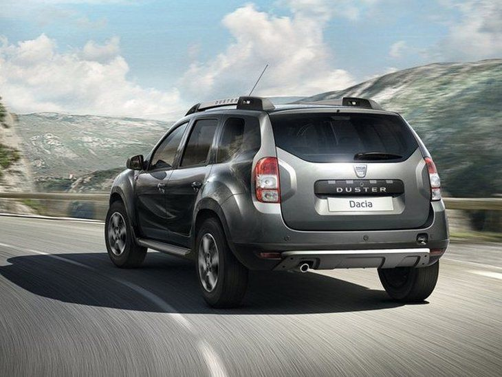 Dacia Duster Grey Exterior Back