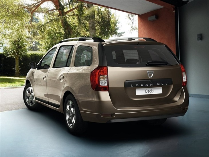 Dacia Logan Exterior Gold Back