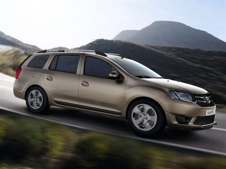 Dacia Logan Exterior Gold Side