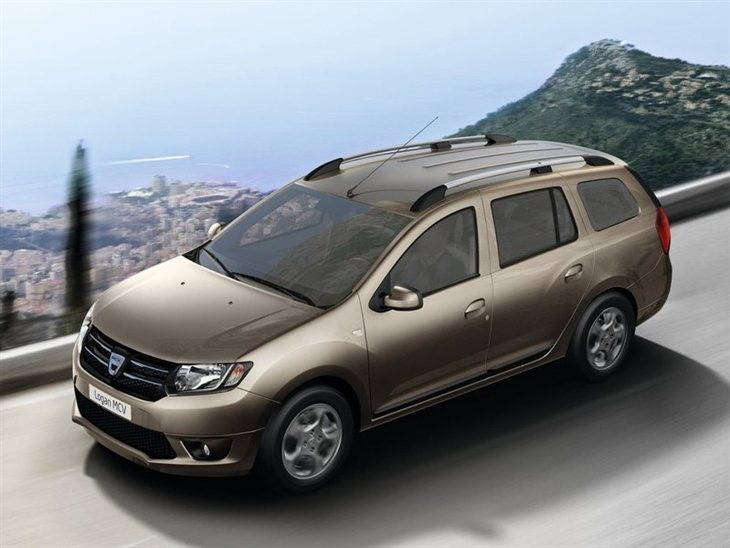 Dacia Logan Exterior Gold Top