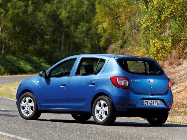 dacia sandero 1 2 16v 75 access car leasing nationwide vehicle contracts. Black Bedroom Furniture Sets. Home Design Ideas