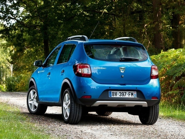 Dacia Sandero Step Away Blue Exterior Back 2
