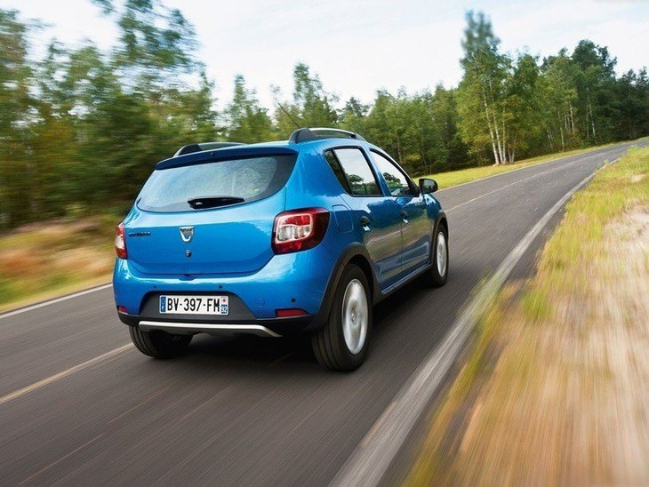 Dacia Sandero Step Away Blue Exterior Back