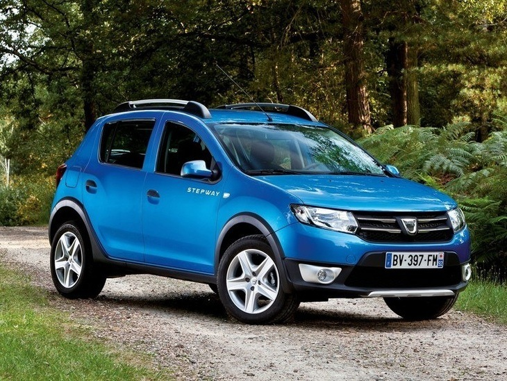 Dacia Sandero Step Away Blue Exterior Front