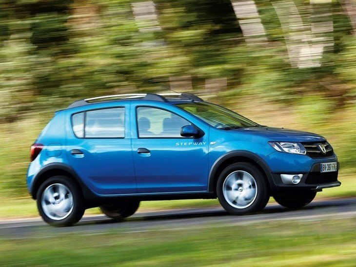 Dacia Sandero Step Away Blue Exterior Side