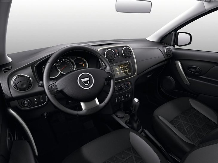 Dacia Sandero Step Away Interior 2