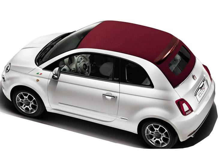 fiat 500c 0 9 twinair lounge dualogic contract hire and. Black Bedroom Furniture Sets. Home Design Ideas