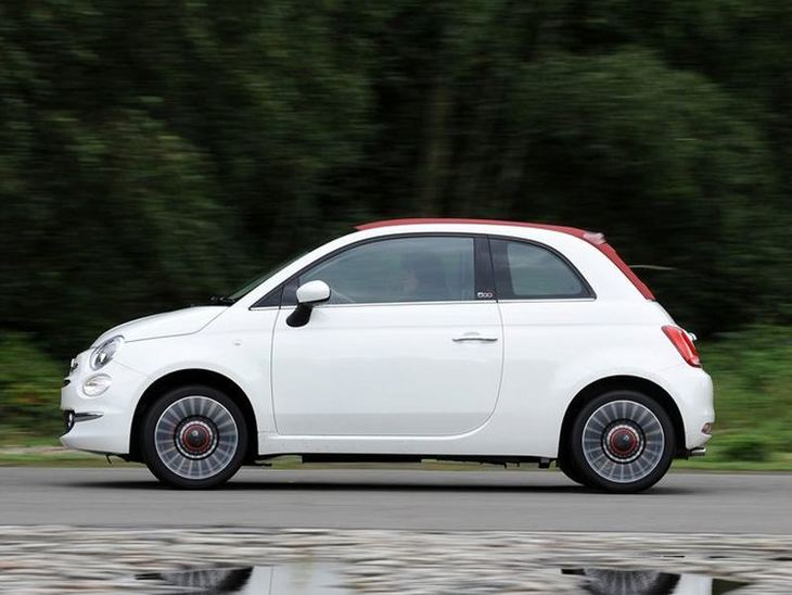 Fiat 500 1 2 Lounge Dualogic Car Leasing Nationwide