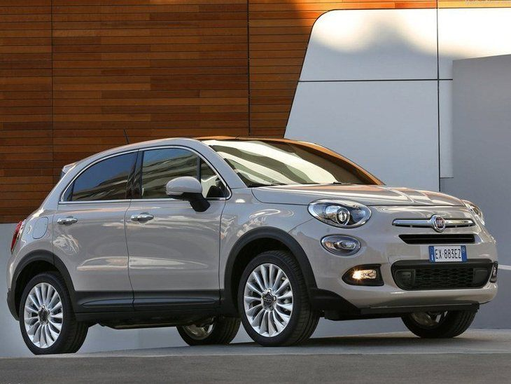 Fiat 500 X Silver Exterior Front