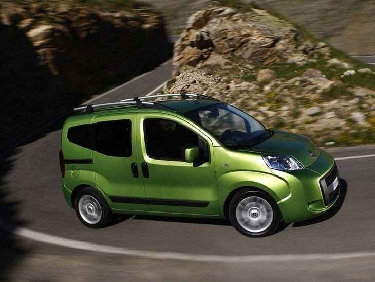 Fiat Qubo Green Exterior Side 2