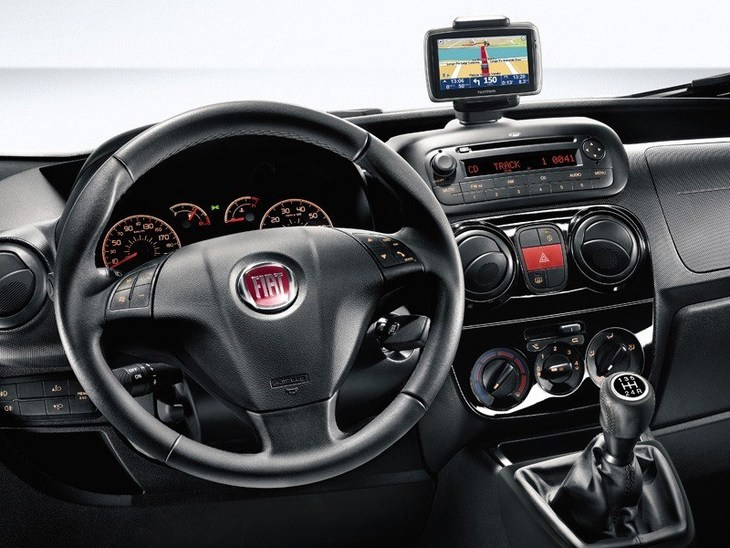 Fiat Qubo Green Interior
