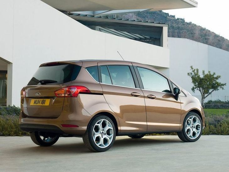 Ford B-MAX Brown Exterior Back