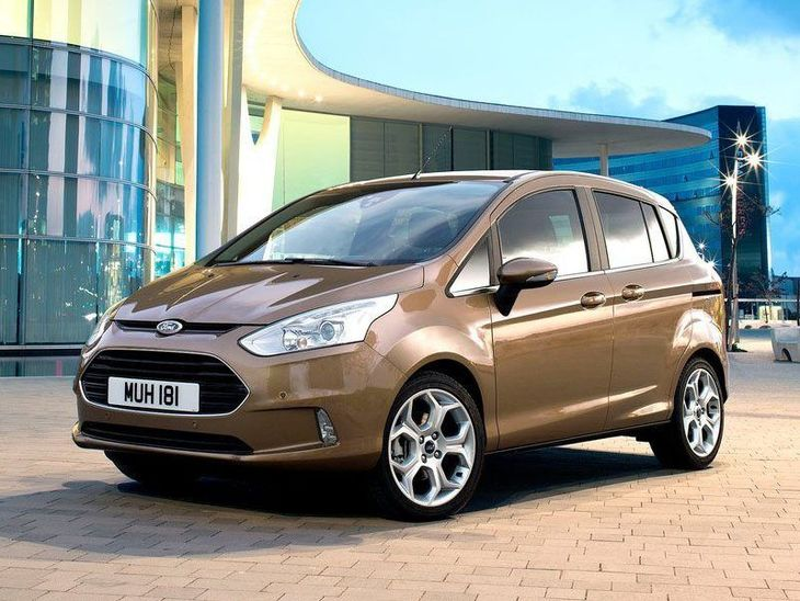 Ford B-MAX Brown Exterior Front