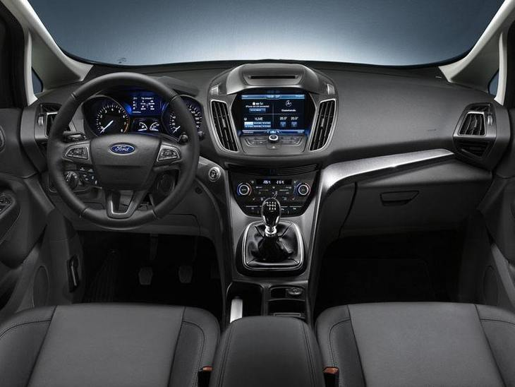 Ford C-MAX Black Interior