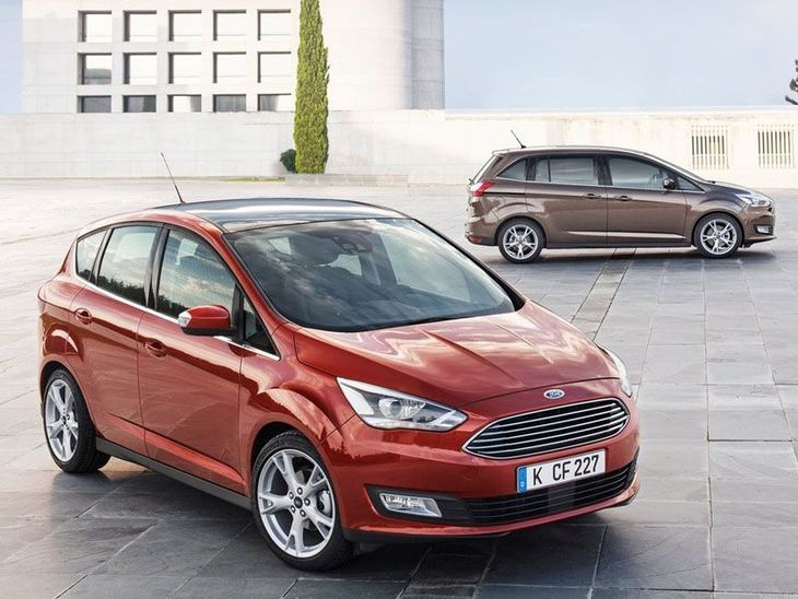 Ford C-MAX Red Exterior Range